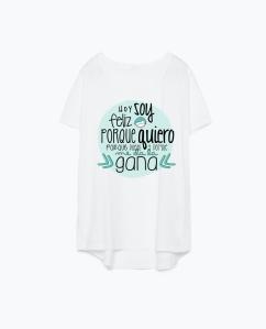 camiseta blanca porque puedo