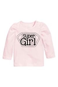 Camiseta h&m clarit super niñaa