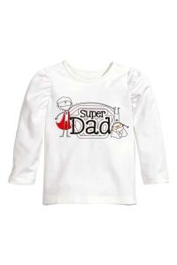 Montaje camiseta h&m niña dia del padre