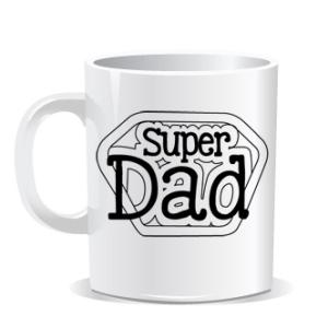 taza super dad
