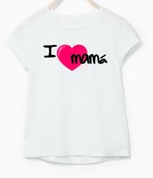 Camiseta niña I LOVE MAMI