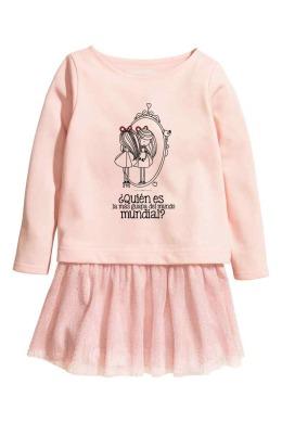 Vestido nueva temporada blancanieves rosa