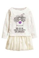 vestido nueva temporada blanco bella durmiente (blanco)